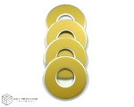 Gold-Metallic VVashers™ - Set of 4